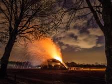 Duitse paasvuren zorgen mogelijk voor stankoverlast in de regio