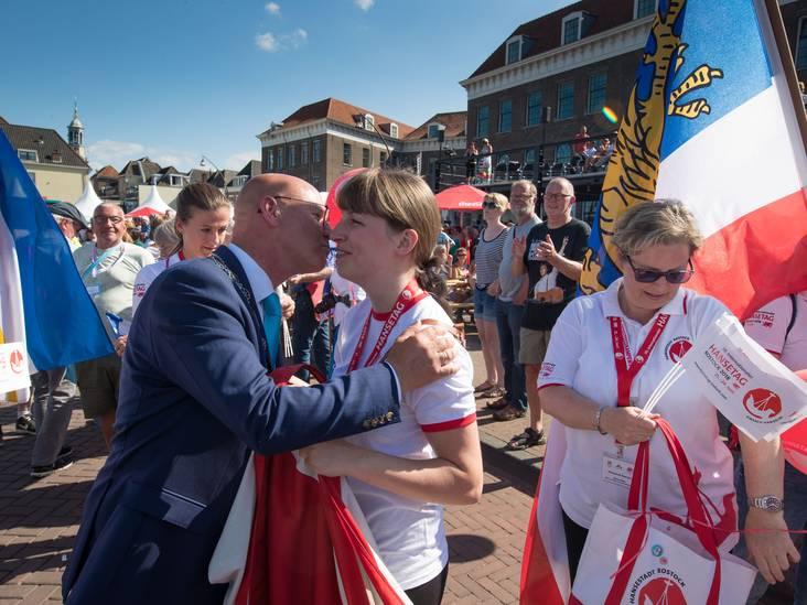 Burgemeester zweeft na 'fantastische' Hanzedagen in Kampen