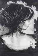 Illustratie uit het boek 'Een buik vol prikkels' van Puck Witsmeer.
