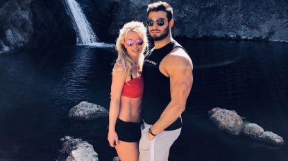 Britney Spears nog steeds smoorverliefd