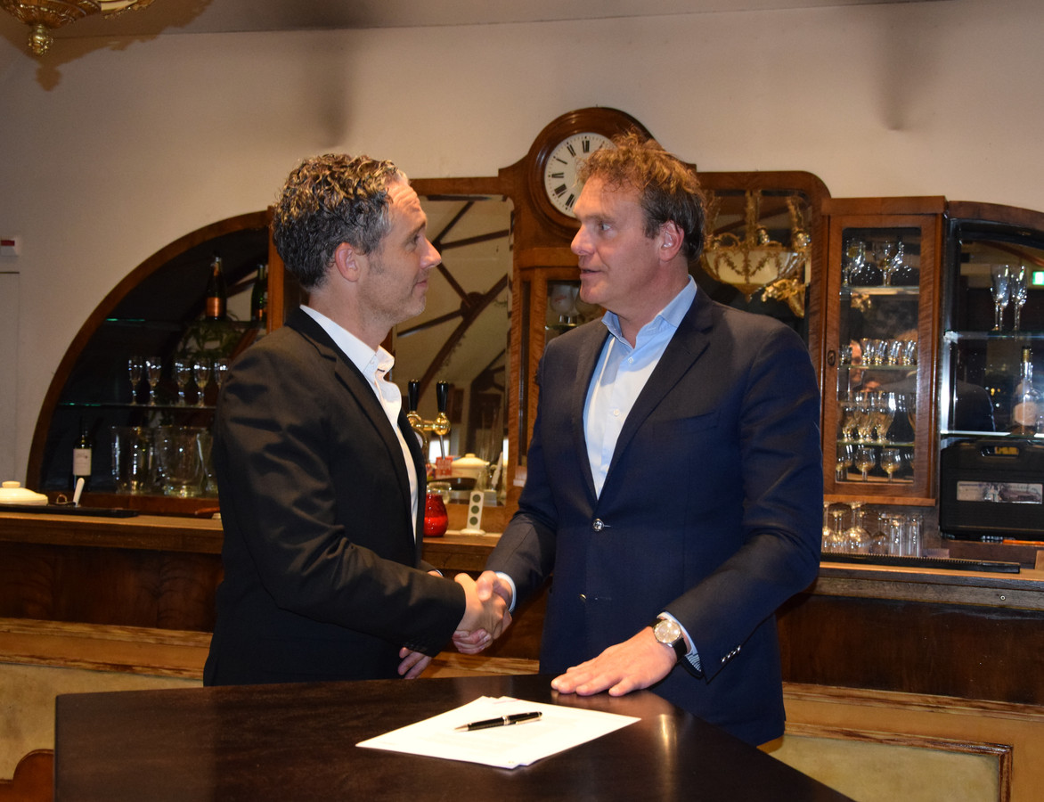 Jeroen de Haas van Pipple (links) en Chris Baelemans van Welten.
