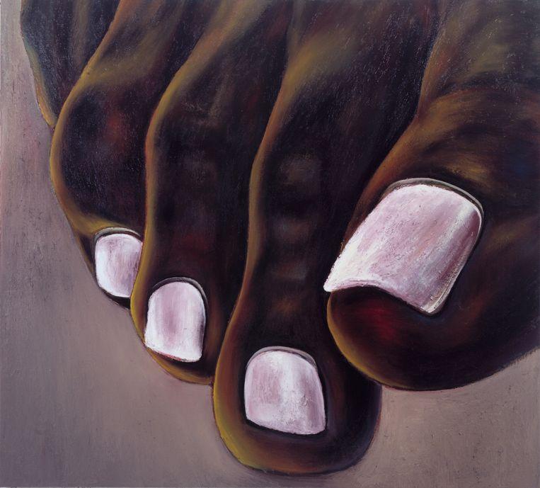 Ina van Zyl, Big Toes, 2005. Beeld Tom Haartsen, Courtesy Galerie Onrust