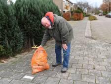 Oosterhoutse ophaaldienst laat zakken met 'verkeerd afval' achter