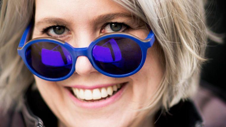 Linda Duits: 'Ik deed het vanuit een soort idealisme, ik vond dat leuk, dat al die rechtse mensen mijn stukken lazen' Beeld Harmen de Jong