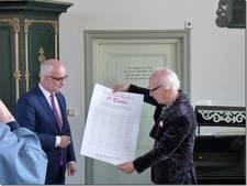 500 jaar protestant estafette komt aan in Schokland