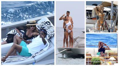 IN BEELD. Beyoncé, Will Smith, Michael Douglas en co kiezen voor een vakantie in volle vaart