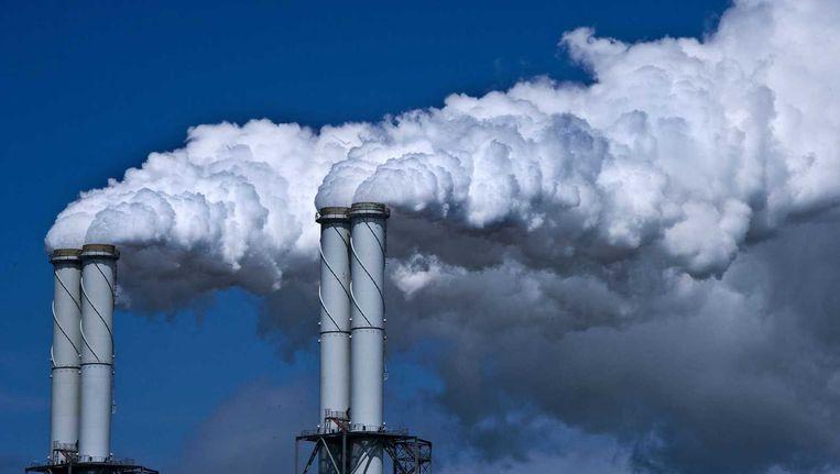 De kolencentrale op de Maasvlakte Beeld anp
