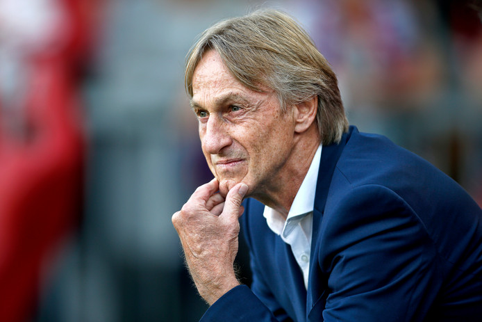 Willem II trainer Adrie Koster.