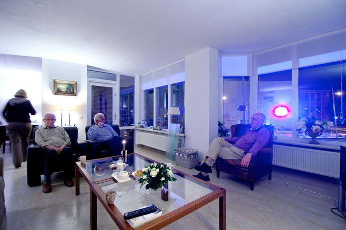 Lichtreclame kan soms zeer hinderlijk werken in een woning.