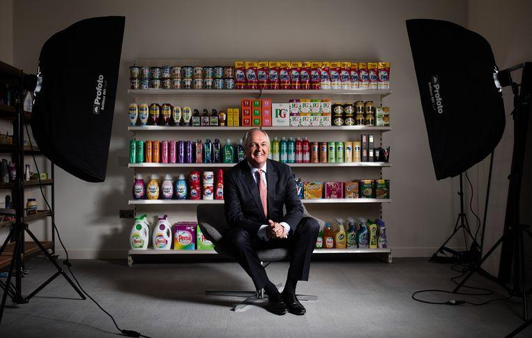 Paul Polman was CEO van Unilever Beeld Bloomberg via Getty Images