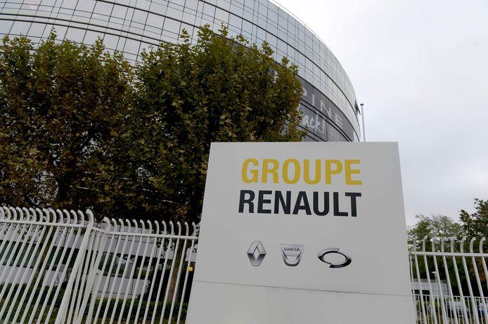 Het hoofdkwartier van Renault in het Franse Boulogne.