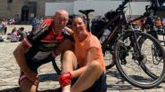 """Schepen Kris Govers en partner Katrijn bereiken Compostela in verzengende hitte: """"Bij momenten afgezien, wel een heerlijk gevoel"""""""