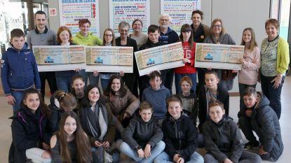 Sponsortocht Sint-Aloysius levert 12.000 euro voor het goede doel op