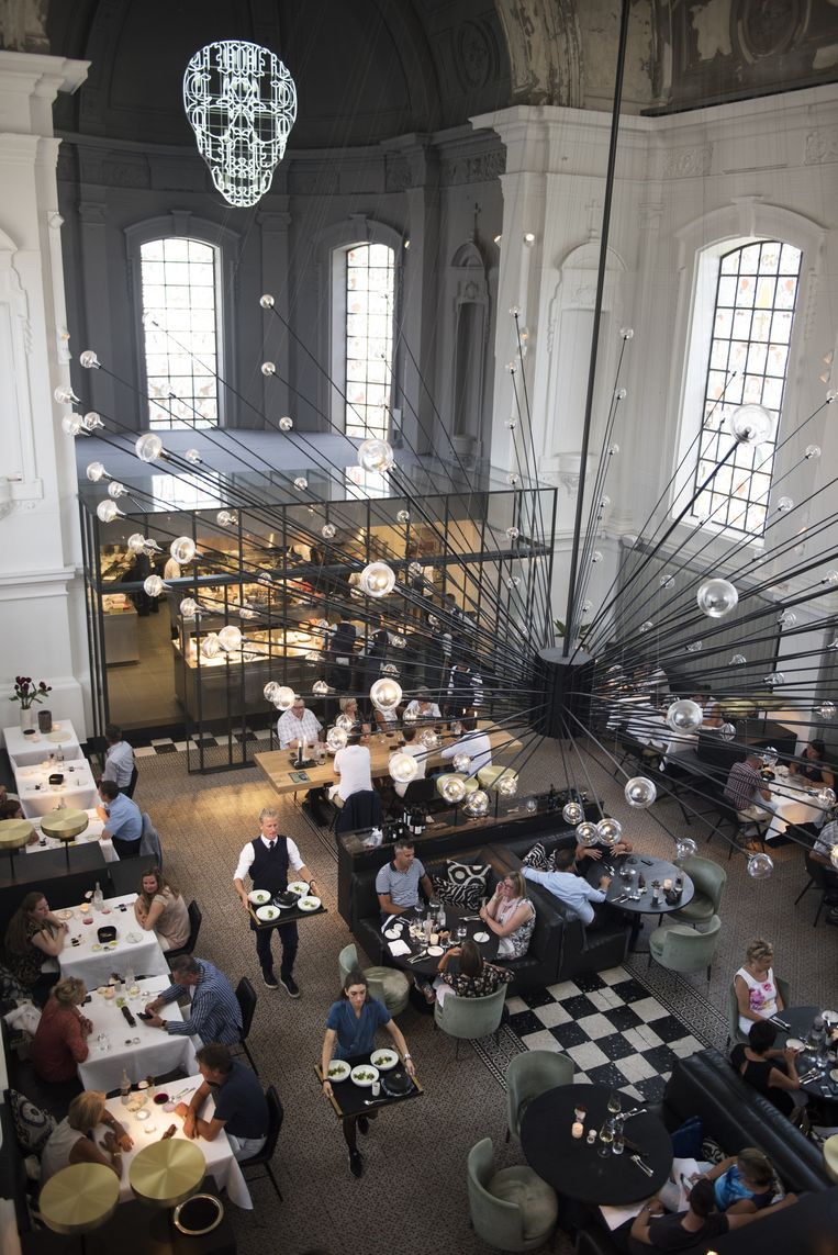 Restaurant The Jane is de ideale vrouw volgens Sergio Herman. Beeld Els Zwerink