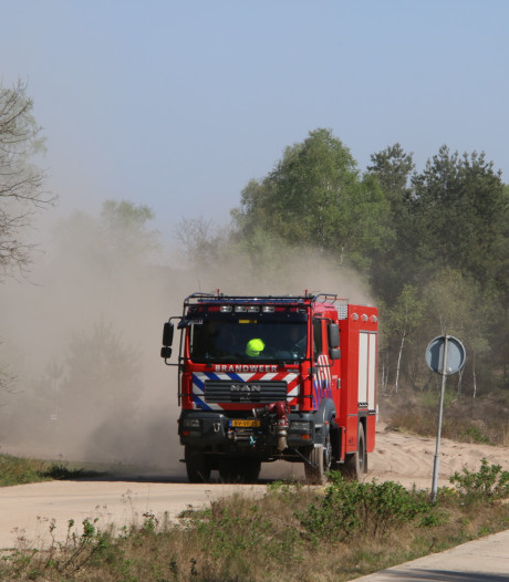 Kleine heidebrand snel geblust in Arnhem
