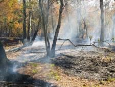 Drone brengt smeulende resten Deurnsche Peel in kaart, ondergrondse brand nog lang niet geblust