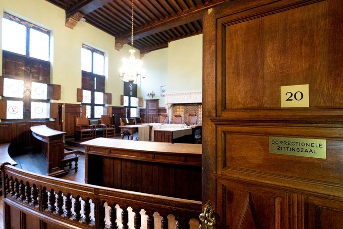 MECHELEN - De correctionele zittingszaal in de rechtbank van Mechelen.