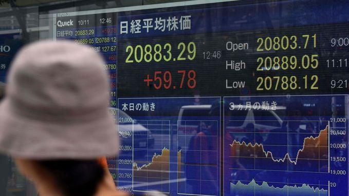 Nikkei-index sluit op hoogste peil in meer dan 20 jaar