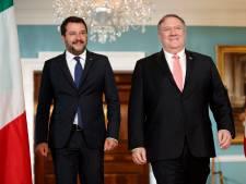 L'Italien Salvini affiche sa proximité avec les États-Unis de Trump