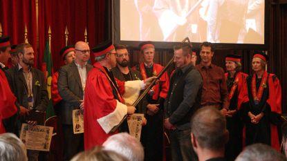 Jef Pirens tot Ridder in de Orde van de Roerstok geslagen