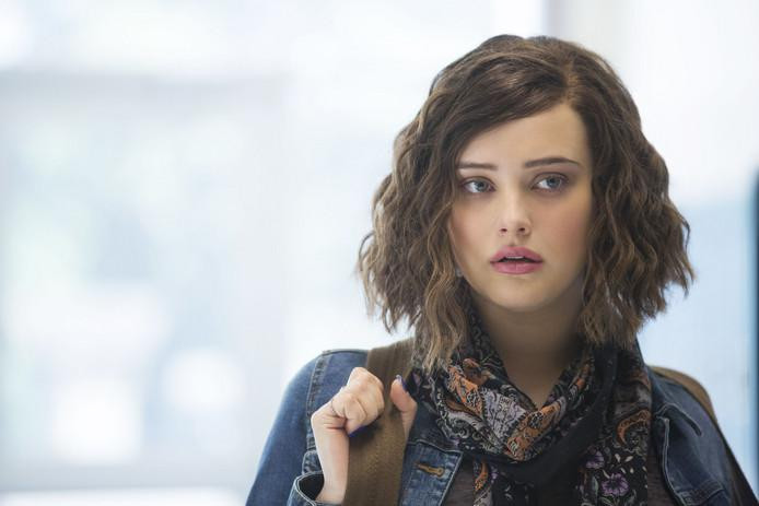"Katherine Langford als Hannah Baker in ""13 Reasons Why"" op Netflix"