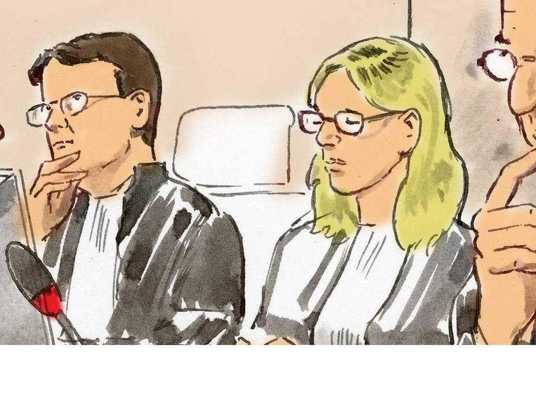 De officieren van justitie Beeld ANP