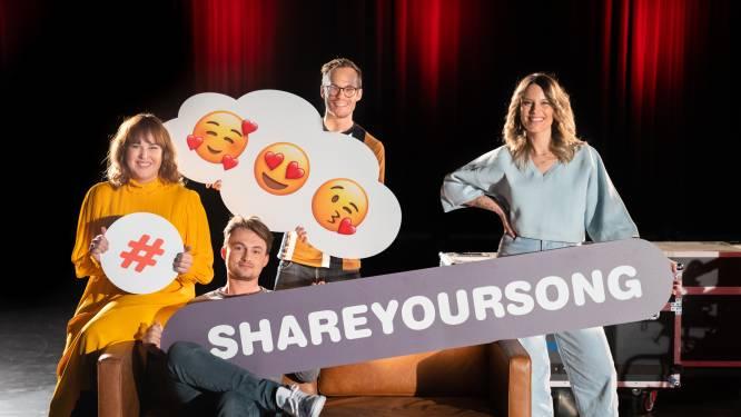 Veel verzoekjes, meer dan 50 artiesten en 10 uur live muziek tijdens radioshow 'Share Your Song' op Rode Neuzen Dag