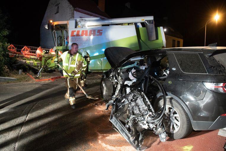 Het ongeval gebeurde ter hoogte van het kruispunt met de Hoge Weg, waar de Edelareberg een scherpe bocht maakt.