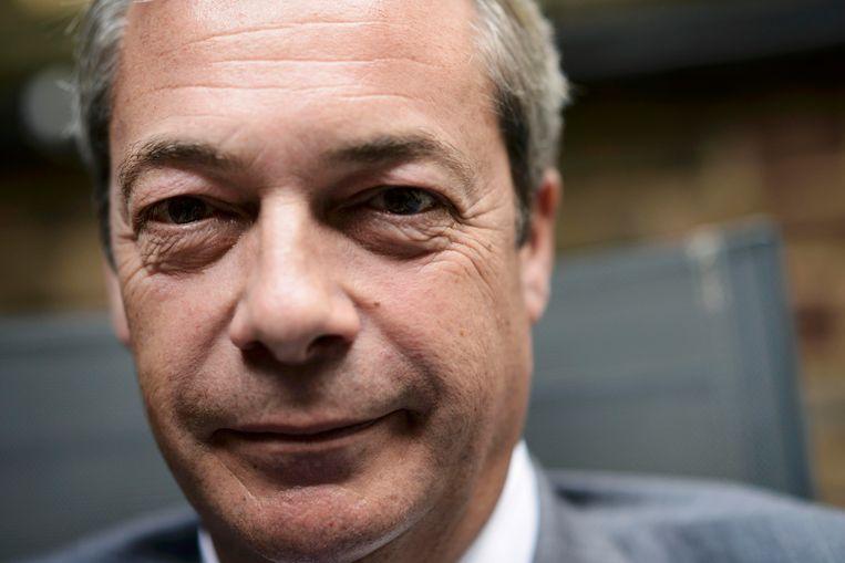 Nigel Farage Beeld reuters