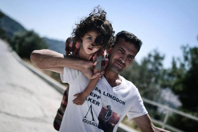 Veel jezidi's zijn op de vlucht