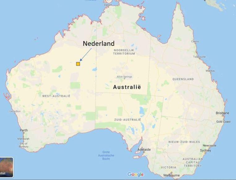 Een klein stukje van de Australische woestijn vol leggen met zonepanelen is voldoende om álle energie te produceren die Nederland jaarlijks nodig heeft. Beeld Martien Visser, Hanzehogeschool/Entrance