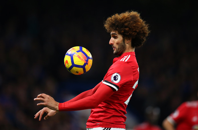 Marouane Fellaini .