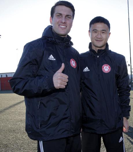 Todd Wijnstekers laat Chinese spelertjes kennismaken met Hollandse School