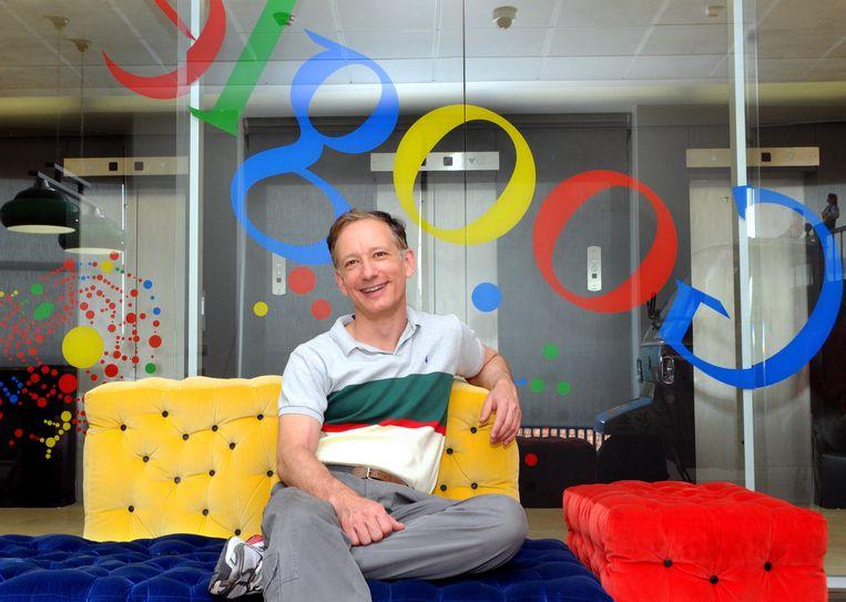 Peter Fleischer: 'Hoeveel een Google-dienst mag onthouden kunnen mensen zelf instellen.' Beeld