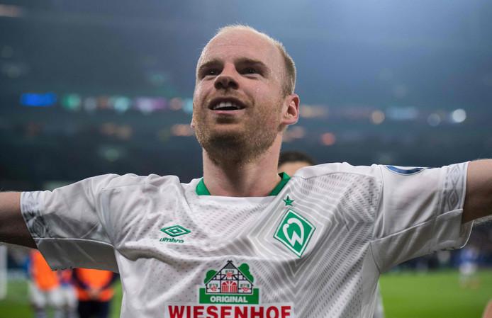 Davy Klaassen scoorde dit seizoen al zeven keer voor Werder Bremen.