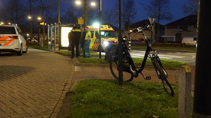 De fiets aan de Leonard Springerlaan in Deventer.