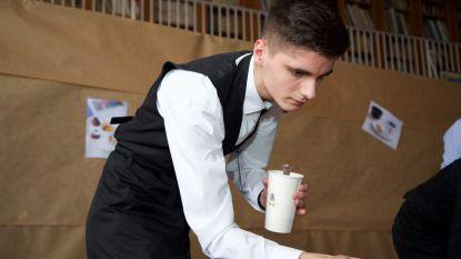Lerares en leerling SIMA scoren goed op baristawedstrijd