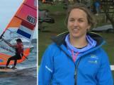 WK windsurfen: De Geus 'houdt zwaardere dames bij'