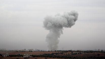 Zeven burgerdoden bij bombardementen in Syrië