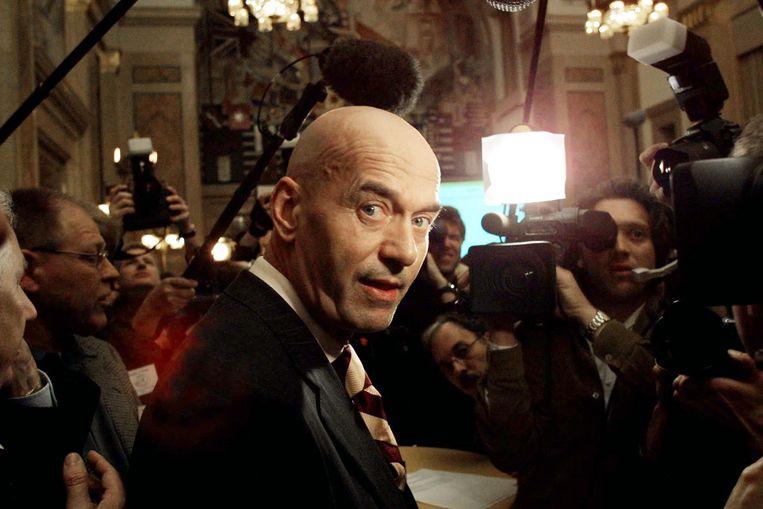 Pim Fortuyn in 2002. Beeld Guido Benschop