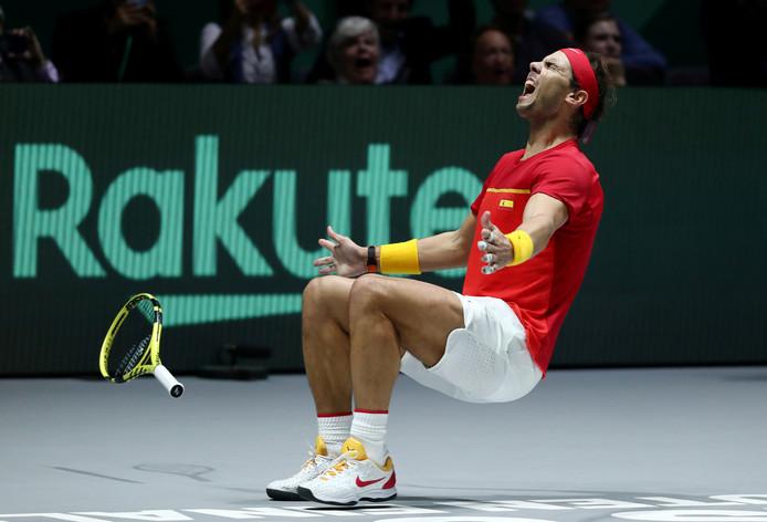 Sixième Coupe Davis pour l'Espagne, quatrième Saladier personnel pour Rafael Nadal.