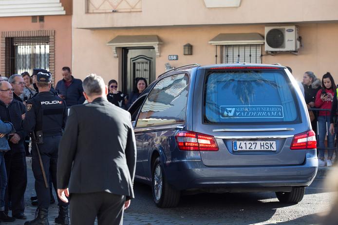Het lichaam van de 2-jarige Julen kwam gisteren al aan bij het begrafeniscomplex in El Palo, Málaga.