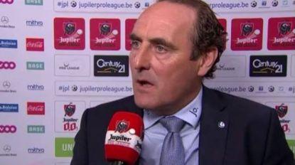 """Vanderhaeghe spaart straffe taal niet na verlies op Sclessin: """"De videoref? Dat ze die maar gewoon afschaffen"""""""