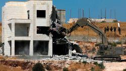 Europa vraagt Israël om sloopwerkzaamheden onmiddellijk stop te zetten