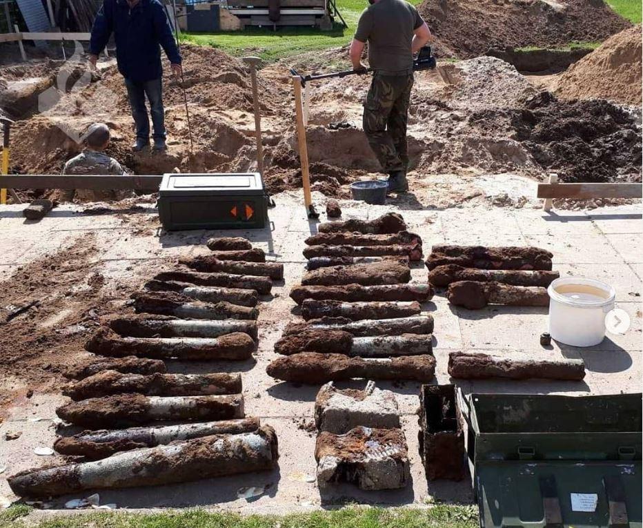 De explosieve vondst in Nederasselt.
