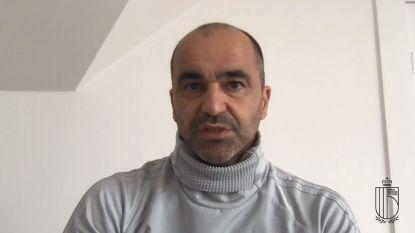 """Roberto Martínez in eerste reactie na EK-uitstel: """"Teleurgesteld, maar we begrijpen beslissing"""""""