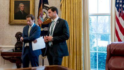"""Witte Huis stuurt nauwe medewerker van Trump """"om veiligheidsredenen"""" de laan uit"""