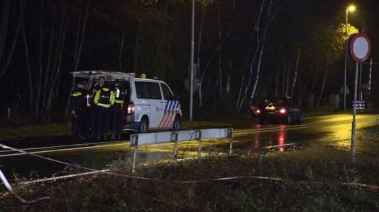 De politie in Winterswijk.