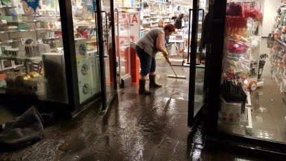 VIDEO. Winkeliers kunnen water niet buiten houden in Halle