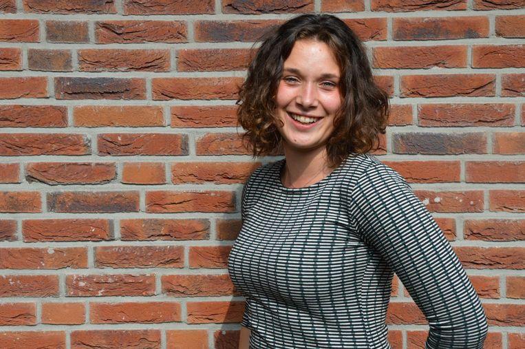 Lieke Kuiper is voorzitter van de Jonge Socialisten in de PvdA. Beeld
